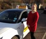 TERRI (ERITH) passed with Gravy Driving School