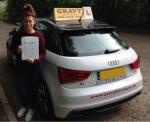 TONI (ORPINGTON) passed with Gravy Driving School