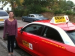 VICKY (SIDCUP) passed with Gravy Driving School