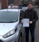 Lee Sargent passed with Hitchin Driving School