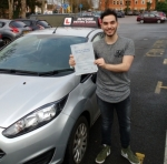 Marco Caruso passed with Hitchin Driving School