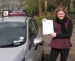 Rebecca Razanno passed with Hitchin Driving School