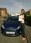 Liz passed with Horsforth Driving School
