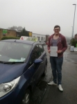 Matthew passed with Horsforth Driving School