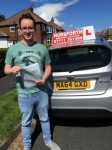 Dan Collinson passed with Horsforth Driving School