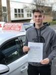 Tom Griffiths passed with Horsforth Driving School