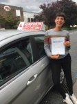 Nat Laurent passed with Horsforth Driving School