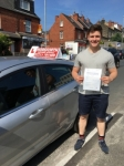 Euan Walkley passed with Horsforth Driving School