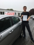 George Batty passed with Horsforth Driving School