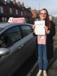 Amelia Burchell passed with Horsforth Driving School