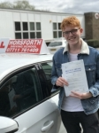Bailey Morris passed with Horsforth Driving School