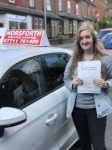 Carla Devine passed with Horsforth Driving School