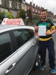 Charlie Andrews passed with Horsforth Driving School