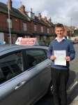 Charlie Pollard passed with Horsforth Driving School