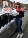 Daisy Mcateer passed with Horsforth Driving School