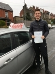 Dan Wood passed with Horsforth Driving School