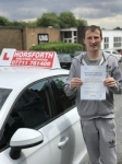 Daniel Donnachie passed with Horsforth Driving School