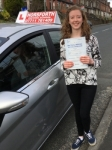 Heather Martin passed with Horsforth Driving School
