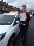 Melissa Casey passed with Horsforth Driving School