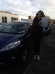 Georgina passed with Horsforth Driving School