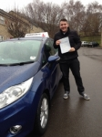 Russell Atkins passed with Horsforth Driving School