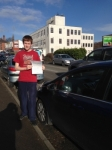 Alex Babington passed with Horsforth Driving School