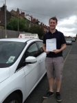 Robert passed with Horsforth Driving School