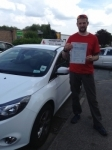 Richard Yates passed with Horsforth Driving School