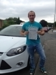Craig Bishop passed with Horsforth Driving School