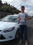 Tom Martin passed with Horsforth Driving School
