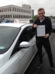Tom Wren passed with Horsforth Driving School