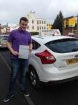 Ben Garratt passed with Horsforth Driving School