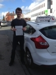 Rob Whitfield passed with Horsforth Driving School