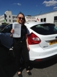Lucy Spendlove passed with Horsforth Driving School