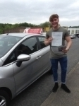 Callum Holmes passed with Horsforth Driving School