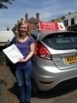 Hannah Blackett passed with Horsforth Driving School