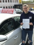 Izzy Wheeler passed with Horsforth Driving School