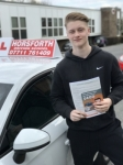 Jack Thompson passed with Horsforth Driving School
