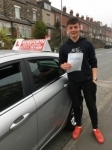 James Jackson passed with Horsforth Driving School