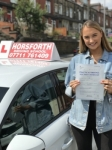 Katy Gilbert passed with Horsforth Driving School