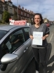 Lois Baron passed with Horsforth Driving School