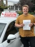 Luke Rowe passed with Horsforth Driving School