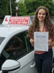 Matilda Pighills passed with Horsforth Driving School