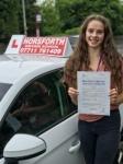 Matilda Pighills passed with Horsforth Driving School