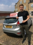 Matthew Robinson passed with Horsforth Driving School