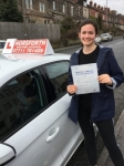 Mia Walsh passed with Horsforth Driving School