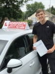 Olly Whincup passed with Horsforth Driving School