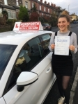 Rhiannon Harkin passed with Horsforth Driving School