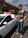 Jamie Whitehouse passed with Horsforth Driving School