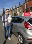 Oliver Fisher passed with Horsforth Driving School